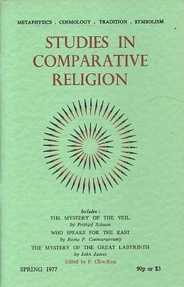STUDIES IN COMPARATIVE RELIGION, VOL 11, NUMBER 2. F. Clive-Ross.