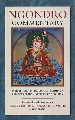 NGONDRO COMMENTARY: Instructions for the Concise Preliminary Practices of the new Treasure of Dudjom. Chagdud Tulku, Jane Tromge.
