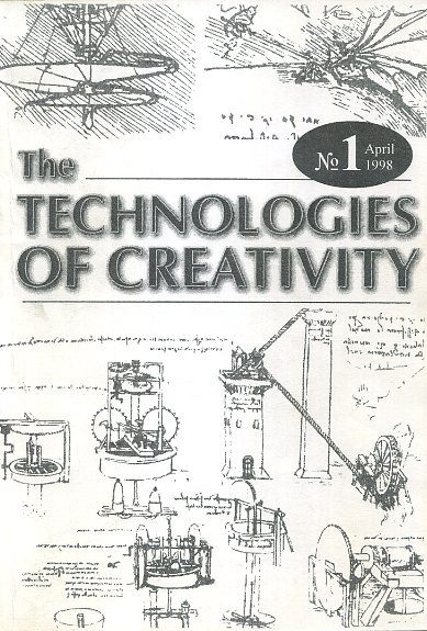 THE TECHNOLOGY OF CREATIVITY: NO 1, APRIL 1998. Gregory Blake.