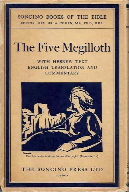 THE FIVE MEGILLOTH. A. Cohen.