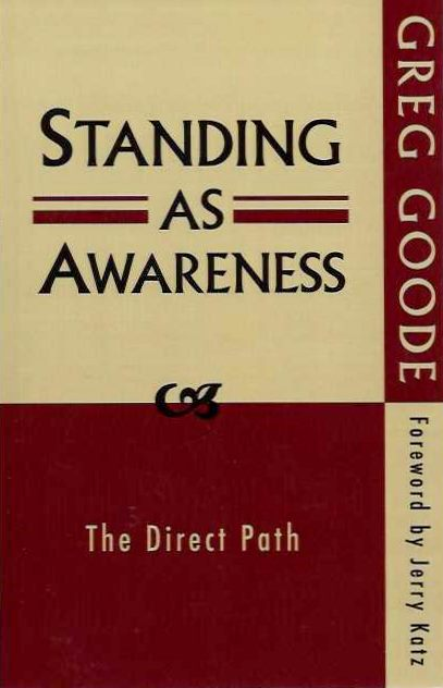 STANDING AS AWARENESS; The Direct path. Greg Goode.