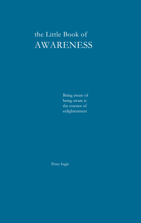 THE LITTLE BOOK OF AWARENESS. Peter Ingle.