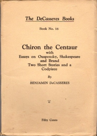 Examples Of Comparative Essays Chiron The Centaur With Essays On Ouspensky Shakespeare And Brand Two  Short Stories And A Codpiece Essay World War 1 also The Power Of One Essay Chiron The Centaur With Essays On Ouspensky Shakespeare And Brand  Anarchy Essay