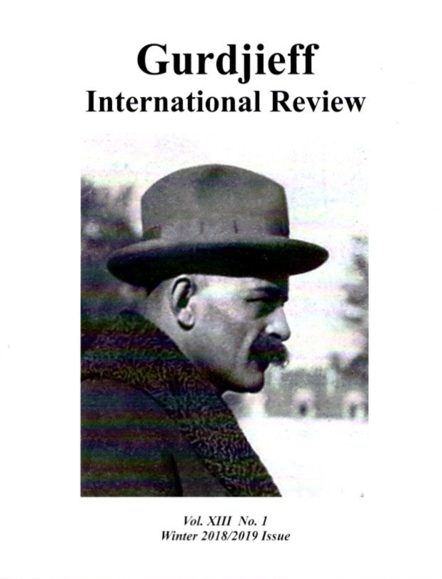 PUPILS OF GURDJIEFF - II: GIR, VOL XIII, NO. 1; GURDJIEFF INTERNATION REVIEW. Ellen Reynard.