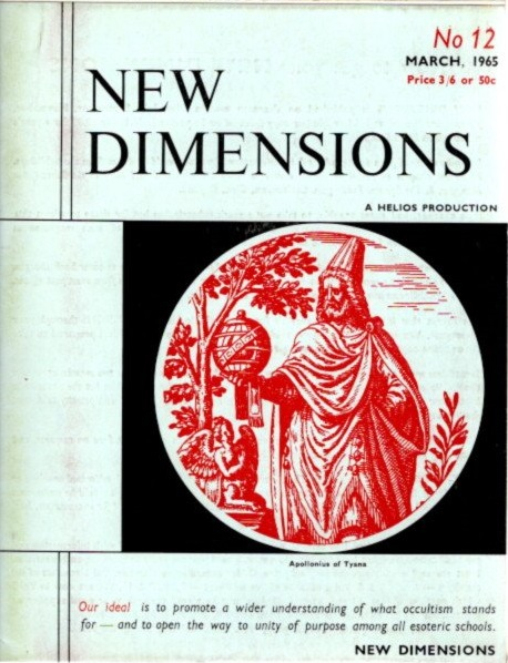 NEW DIMENSIONS: VOLUME 3, NO. 12, FEBRUARY/MARCH 1965. Basil Wilby.