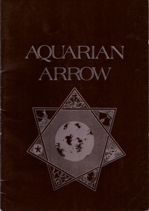 AQUARIAN ARROW NO. 14. Zachary Cox.