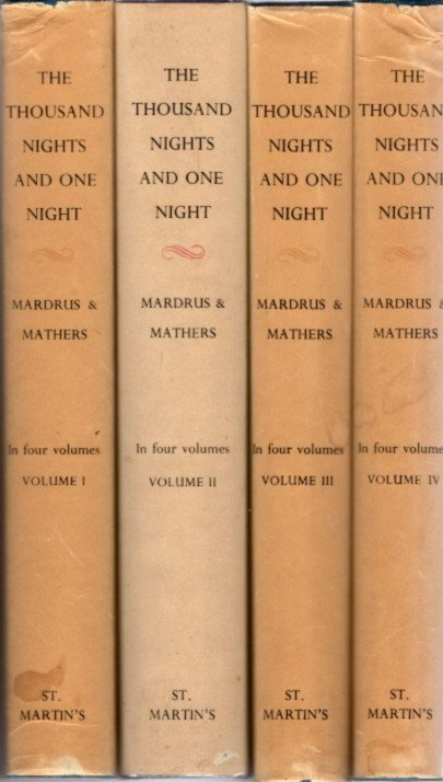 THE BOOK OF THE THOUSAND NIGHTS AND ONE NIGHT. Powys Mathers.