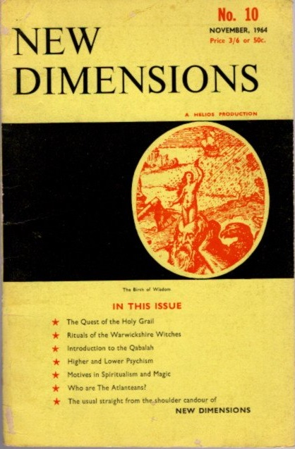 NEW DIMENSIONS: VOLUME 2, NO. 10, JANUARY 1964. Basil Wilby.