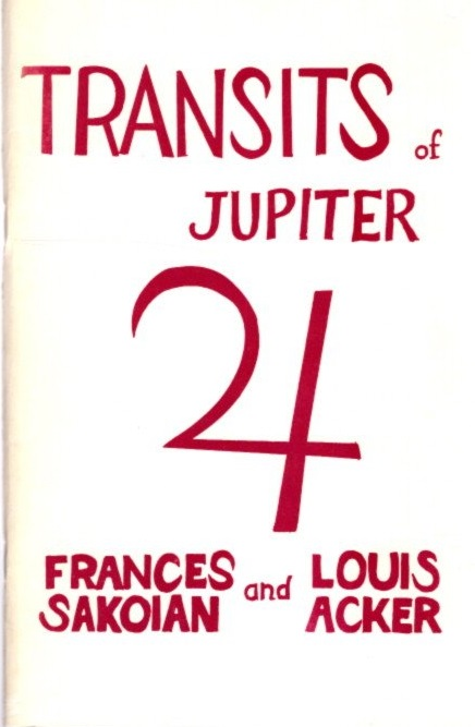TRANSITS OF JUPITER. Frances Sakoian, Louis Acker.