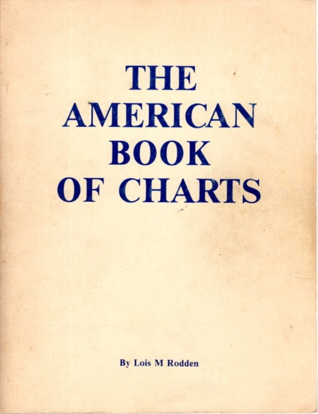 THE AMERICAN BOOK OF CHARTS. Lois M. Rodden.