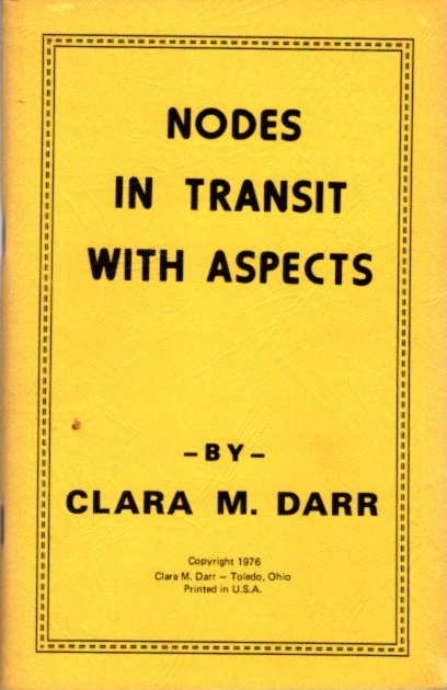 NODES IN TRANSIT WITH ASPECTS. Clara M. Darr.