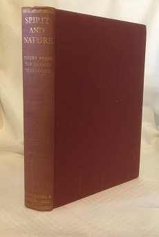 SPIRIT AND NATURE: PAPERS FROM THE ERANOS YEARBOOKS, VOLUME 1. Joseph Campbell.