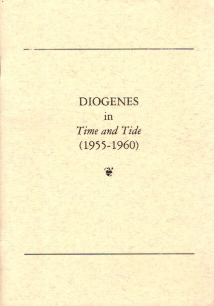 DIOGENES IN TIME AND TIDE (1955-1960).