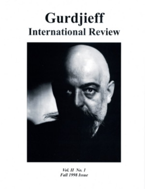 THE GURDJIEFF LITERATURE: GIR VOL II, #1, FALL 98.; Gurdjieff International Review