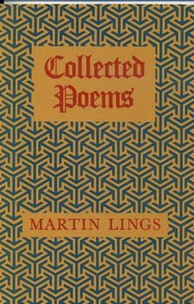 COLLECTED POEMS. Martin Lings