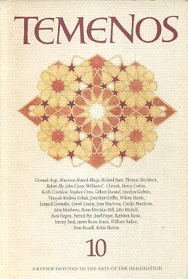 TEMENOS 10.; A Review Devoted to the Arts of the Imagination. Kathleen Raine.