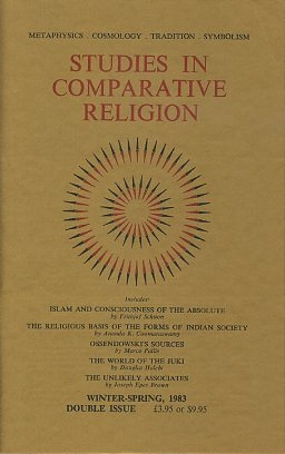 STUDIES IN COMPARATIVE RELIGION, VOL 15, NUMBERS 1 & 2. Peter Hobson, Olive Clive-Ross.
