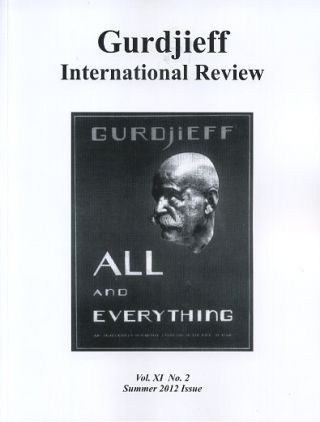 BEELZEBUB'S TALES: GIR, VOL XI, NO. 2:: Gurdjieff International Review
