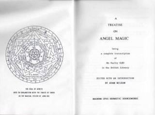 A TREATISE ON ANGEL MAGIC.