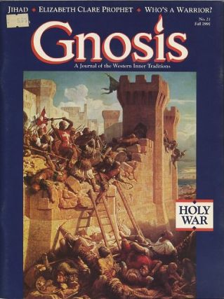 GNOSIS: NO. 21, FALL 1991: HOLY WAR. Richard Smoley.