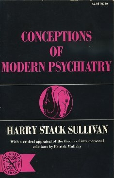 CONCEPTIONS OF MODERN PSYCHIATRY. Harry Stack Sullivan.