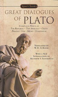 GREAT DIALOGUES OF PLATO. Plato.