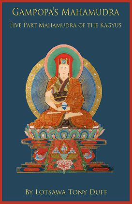 GAMPOPA'S MAHAMUDRA; The Five Part Mahamudra of the Kagyus. Tony Duff.