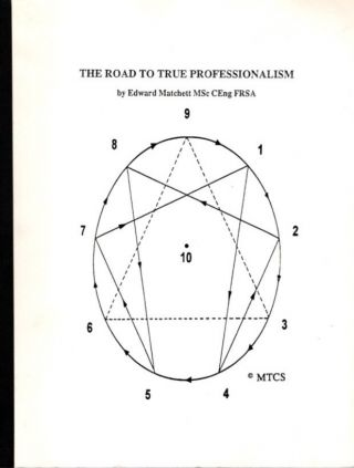 THE ROAD TO TRUE PROFESSIONALISM. Edward Matchett