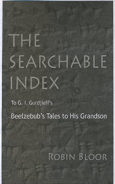 BEELZEBUB'S TALES TO HIS GRANDSON: SEARCHABLE EBOOK. G. I. Gurdjieff.