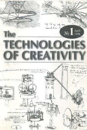 THE TECHNOLOGY OF CREATIVITY: NO 1, APRIL 1998. Gregory Blake