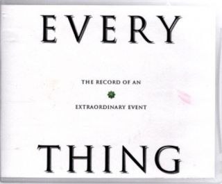 EVERYTHING; The Record of an Extraordinary Event. Peter Kingsley.