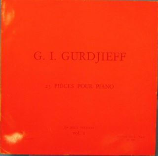 23 PIÈCES POUR PIANO: VOLUME I. G. I. Gurdjieff
