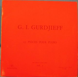 23 PIÈCES POUR PIANO: VOLUME II. G. I. Gurdjieff.