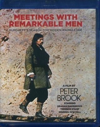 MEETINGS WITH REMARKABLE MEN [DVD - BLUE-RAY]. G. I. Gurdjieff.