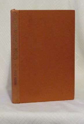 GURDJIEFF REMEMBERED. Fritz Peters.