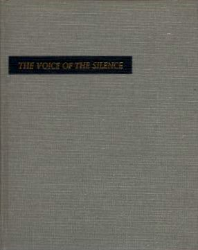 THE VOICE OF THE SILENCE. H. P. Blavatsky