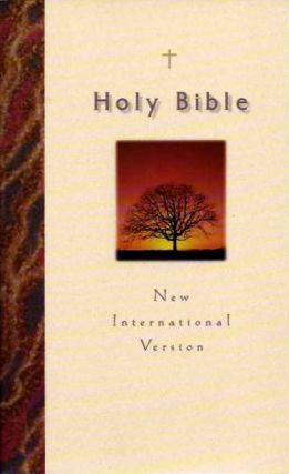 HOLY BIBLE: NEW INTERNATIONAL VERSION.
