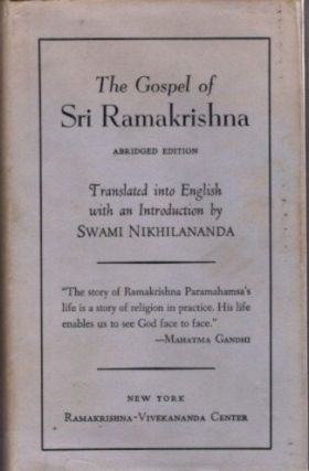 THE GOSPEL OF SRI RAMAKRISHNA.; Abridged Edition. Sri Ramakrishna.