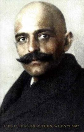 "LIFE IS REAL ""ONLY THEN WHEN I AM""; Early version from the papers of Muriel Draper. G. I. Gurdjieff."