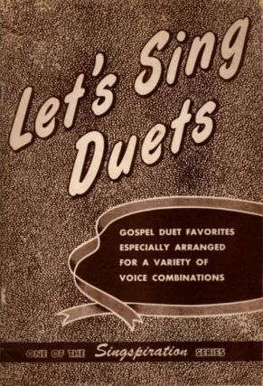 LET'S SING DUETS. Alfred Smith.