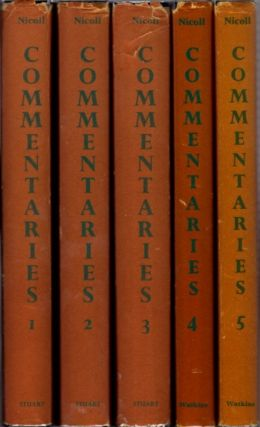 PSYCHOLOGICAL COMMENTARIES ON THE TEACHINGS OF G.I. GURDJIEFF & P.D. OUSPENSKY; Five Volume Set