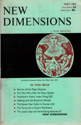 NEW DIMENSIONS: VOLUME II, NO. 7, APRIL/MAY 1964. Basil Wilby