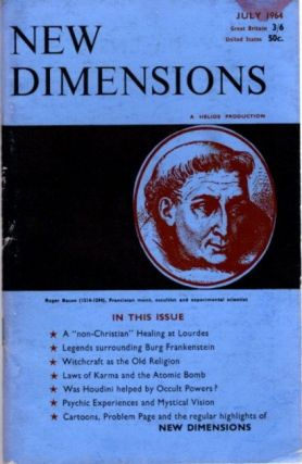 NEW DIMENSIONS: VOLUME II, NO. 8, JUNE/JULY 1964. Basil Wilby