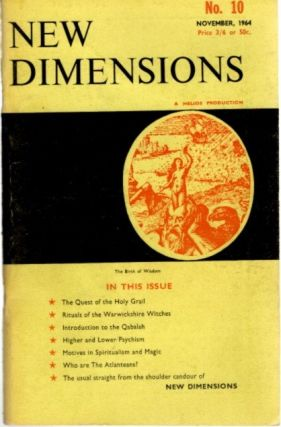 NEW DIMENSIONS: VOLUME 2, NO. 10, JANUARY 1964. Basil Wilby