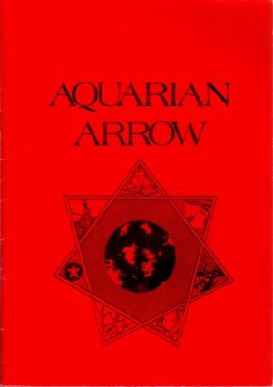 AQUARIAN ARROW NO. 16. Zachary Cox
