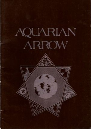AQUARIAN ARROW NO. 14. Zachary Cox