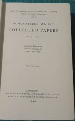 COLLECTED PAPERS; Volume I