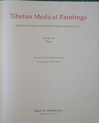 TIBETAN MEDICAL PAINTINGS; Illustrations to the Blue Beryl Treatise of Sangye Gyamtso (1653-1705)