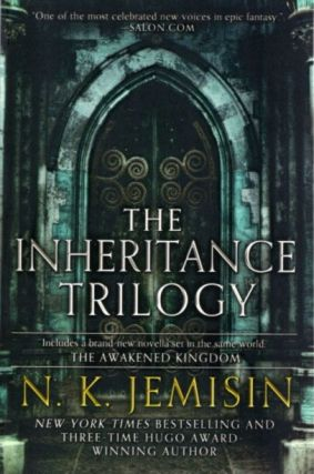 THE INHERITANCE TRILOGY; The Hundred Thousand Kingdoms, The Broken Kingdoms, The Kingdom of Gods...