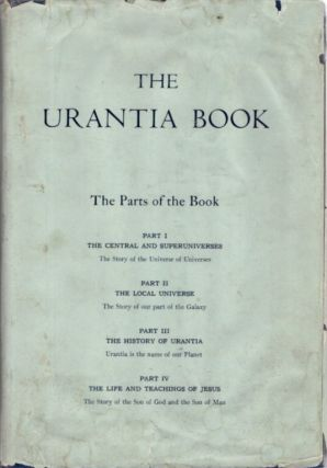 THE URANTIA BOOK. Urantia Foundation